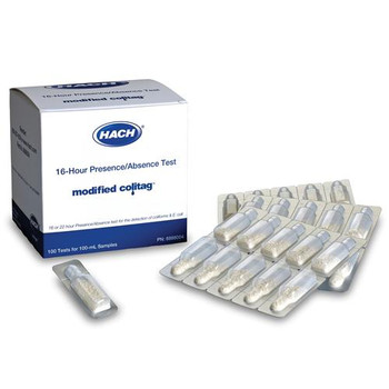 8888003 Hach Modified Colitag 16-HR Modified Colitag 16-hr Presence/Absence Media, 20/pk Snap Pack Package of  20