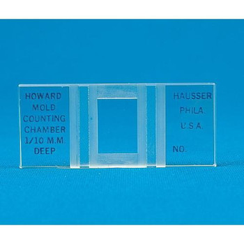 5090 Hausser Scientific Mold Counting Chamber Cover Glass, 1.0 mm Each of  1