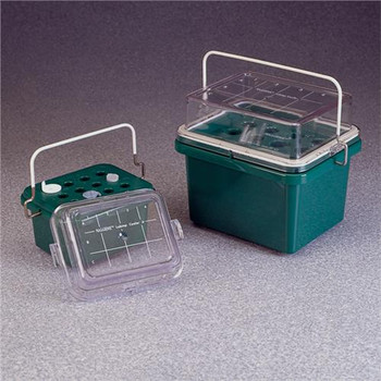 DS5116-0012 Thermo Scientific Nalgene Labtop Cooler Jr, Clear Lid, 0 Degree C, 12 Place (Each of 1)