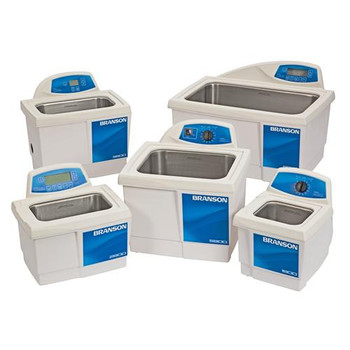 Branson CPX-952-216R Bransonic Ultrasonic Baths M Series (Mechanical timer), Model 2800, 120 V, 0.75 gal  (Each of 1)