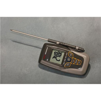 Thermco ACC550DIG NIST Digital Pocket Thermometer w/Probe Digital Therm w/Retractable 5\  (Each of 1)