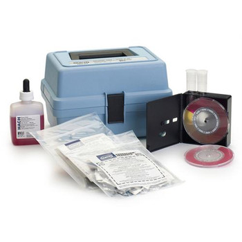 5763-06 Hach Model CN-67 Chlorine (Free & Total) and pH Test Kit (Each of 1)