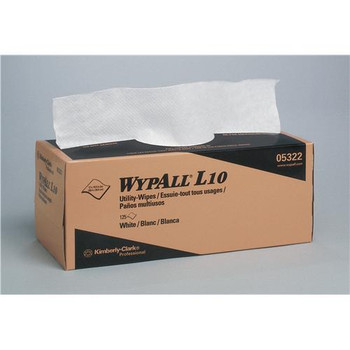 Kimberly Clark 5322 Wypall L10 Utility Wipers Wypall L10 Utility Wipers, 12 x 10.5 inch  (Case of 2250)