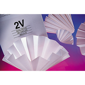 GE Healthcare 10313951 Whatman Grade 2555 ?? Qualitative Filter Papers Grade 2555 ?? Qualitative Filter Paper Folded (Prepleated), 240 mm  (Package of 100)