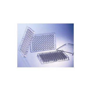 Greiner Bio-One 655096 96 Well Polystyrene Microplates 96W FLUOTRAC 200 Plate, PS, Medium Binding, Flat Bottom, Black ??Clear  (Case of 40)