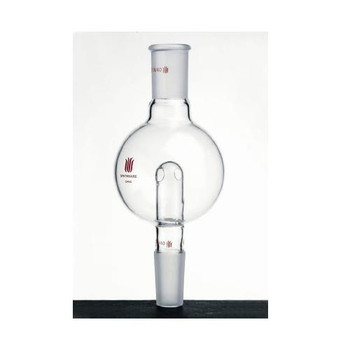 A602914 Kemtech America Synthware Rotary Evaporator Anti-Splash Traps, Modified Rotary Evaporator Bump Trap, Modified Anti-Splash, 100 mL, Upper Joint: ST 29/42 Outer, Lower Joint: ST 14/20 Inner Each of  1