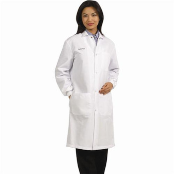 Worklon 439XXL Lab Coats With Convertible Collar Lab Coat, White, Xx-Large  (Each of 1)