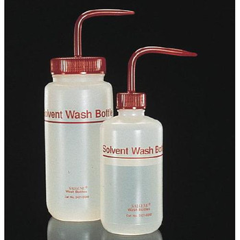 Thermo Scientific Nalgene 2421-0500 Solvent Wash Bottles BOTTLE, Wash, Fluorinated HDPE, 500 mL  (Package of 2)