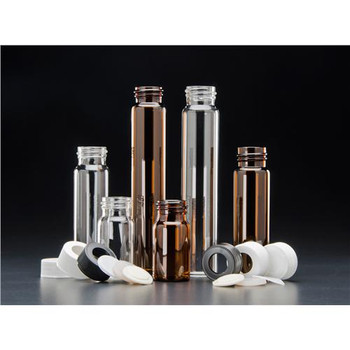 9A-089 J.G. Finneran VOA Vials - Solid Top Closures, PTFE Lined, Standard (Package of 100)