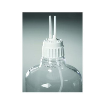 2162-0831 Thermo Scientific Nalgene Filling / Venting Closure With 1/4 Inch Fittings PP 83B (Case of 6)