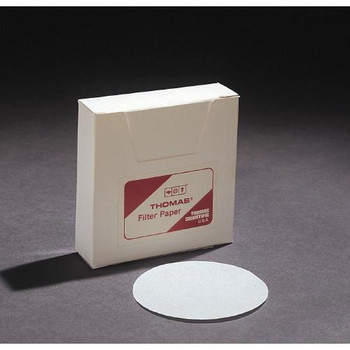 Thomas 6100-1500 Filter Paper, Qualitative Grade Filter Paper, 15 cm  (Package of 100)
