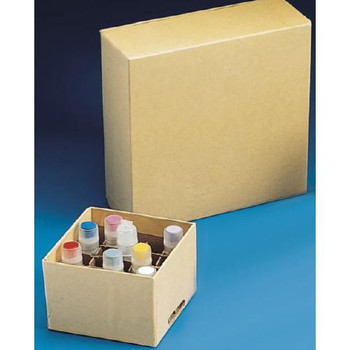 Thermo Scientific Nunc 378247 Cryogenic Storage Boxes Cryostore, Box, 25 Standard, 2 1/2 X 2 1/2 X 2\  (Case of 24)