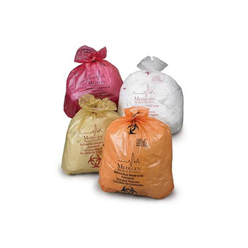 MAI 8-900 Medegen Medical Products Autoclavable Biohazardous Waste Bags Autoclavable Biohazardous Waste Bags Case of  1000