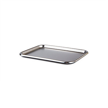 MDG 80170 Medegen Medical Products Regular Mayo-Style Instrument Trays Instrument Tray, Stainless Steel, 17-1/4 x 11-3/4 x 5/8\ Each of  1