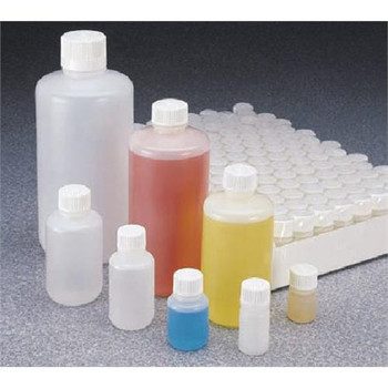 Thermo Scientific Nalgene 342089-0016  Bottle Narrow Mouth HDPE, 500 ml  (Package of 20)