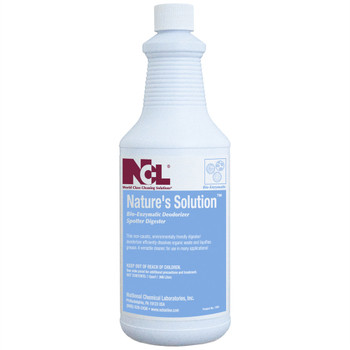 1801-36 NATURE'S SOLUTION?????? Bio-Enzymatic Deodorizer/Spotter/Digester, 32 oz (Case of 12)