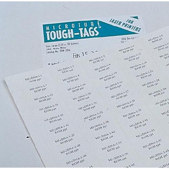 Diversified Biotech TTLW-2016 Laser Tough-Tags Tough-Tags, Laser, 1.28\  (Package of 2125)