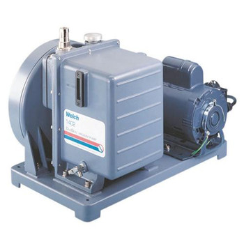 Welch 1400C-02 DuoSeal High Vacuum Pumps Duoseal Pump, 25L/min, 230V  (Each of 1)