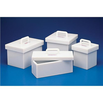 Bel-Art Products F24960-0003 Lead Lined Polyethylene Box Lead Lined Polyethylene Box 25 x 25 x 25cm  (Each of 1)