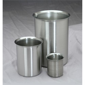 3000B Polarware Company Stainless Steel Griffin Style Beakers 3000ml Stainless Steel Griffin Style Beakers 3000ml Case of  6