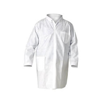 10019 Kimberly Clark KLEENGUARD* A20 Breathable Particle Protection Lab Coats (Case of 25)