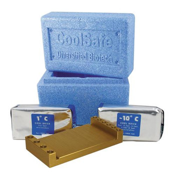 Diversified Biotech CHAM-1000 CoolSafe Benchtop Cooling and Storage Systems Coolsafe Chamber, For 0.2 ml Tubes  (Each of 1)