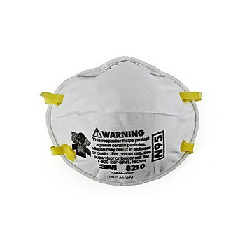 3M Safety 142-8210-BX Particulate Respirator 8210, N95 ( Box of 20)