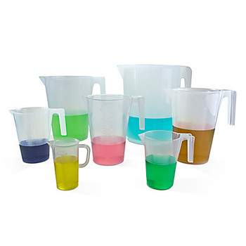 Bel-Art Products F28994-0000 Scienceware Graduated Pitchers, Polypropylene Pitcher, PP, Graduated, 5L  (Each of 1)
