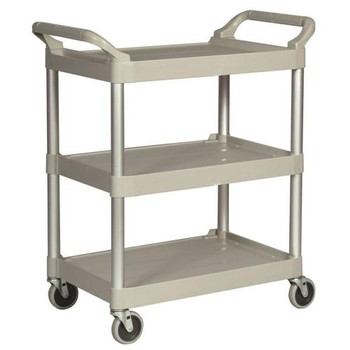 640-3424-88-PLAT Rubbermaid Utility Carts with 4\ Utility Cart with 4\ Each of  1
