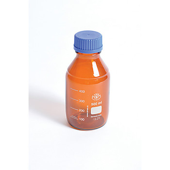 BMA0100 United Scientific Supplies Amber Media Bottles Media Bottles, Amber, 100mL Package of  10