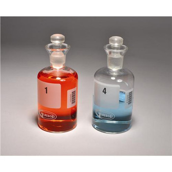 BOD300-N United Scientific Supplies Numbered BOD Bottles BOD Bottles, Glass, Numbered, Barcoded, 300mL Package of  24