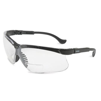 763-S3778 UVEX by Honeywell Uvex Genesisa???? Reading Magnifiers Black Frame, SCT-Reflect 50 Lens, Ultra-dura Anti-scratch Coating, +2.5 Diopters Each of  1