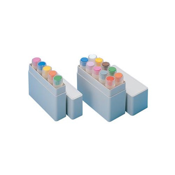 Thermo Scientific Nunc 534592 Mailers, Cryotube 10 Vial Transport Container For 1.0 - 2.0 ml Vials NS Hips  (Package of 10)