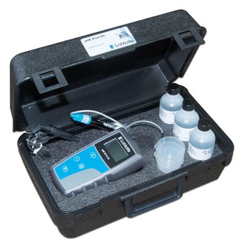LaMotte 5-0035-01 pH 5 - pH Meter 5 Series pH Meter (with case) includes pH 4, 7, and 10 buffer tablets  (Each of 1)