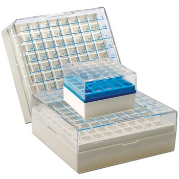 Argos Technologies R3132 Polycarbonate Freezer Boxes Cryobox Polycarb 81 Place Pk4  (Package of 4)