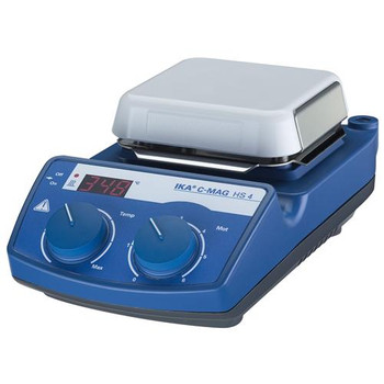 IKA 3581001 IKAMAG C-MAG HS Magnetic Stirrer C-MAG HS 4 IKAMAG hot plate magnetic stirrer, glass ceramics heating plate, 115V  (Each of 1)