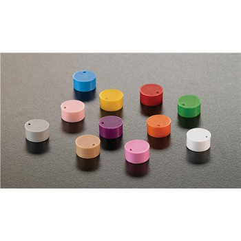 T312-11 Simport Cryogenic Vial Cap Inserts CAPINSERT for Cryogenic Vials, Orange Package of  500