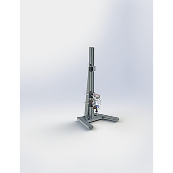 Ace Glass 1658324-EA 1000mL Scale-Up Series jacketed reactor base system ( Each of 1)