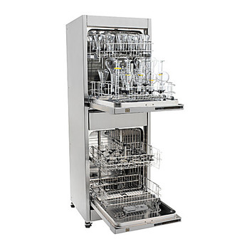 VSW-HA22001 SP Scientific Vertical SpaceSavera????????? Stacking Glassware Washers Vertical Stacked Glassware Washer with DI Rinse, Standard Racks, Spindle Rack Ready, 115V, 60Hz, 15A Each of  1