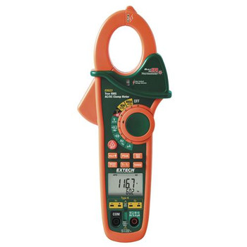 38389-NIST Extech 2000A True RMS AC/DC Clamp Meter\n (Each of 1)