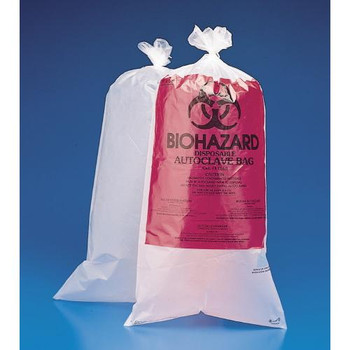Bel-Art Products F13162-0005 Scienceware Autoclave Bags Bag, Unprinted, 24x36\  (Package of 100)