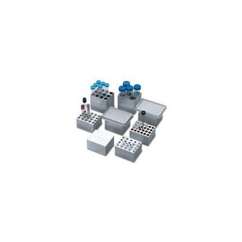 Labnet D1296 AccuBlock Digital Dry Bath Accessories Dual Block, 96 Well Microtiter Plate Or 4 Slides (For Dual Block Unit Only)  (Each of 1)