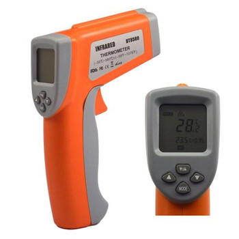 TCT8580 Thermco Dual Laser AccuTherm Infrared Thermometer (-50A??-580A??C) IR Thermometer, -50/580A??C (-58/1076A??F), 16:1 Ratio Each of  1