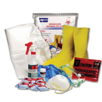 130023S North by Honeywell Biohazard Response PPE Kit (Each of 1)