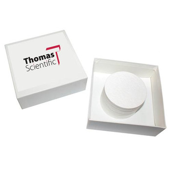 B4250 Thomas Filters Grade B, 4.25cm (Package of 100)