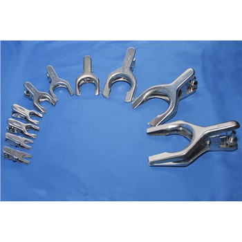 Bal Supply 20275WS Stainless Steel Ball & Socket Clamps Stainless Steel Ball & Socket Clamp, Size 75  (Each of 1)