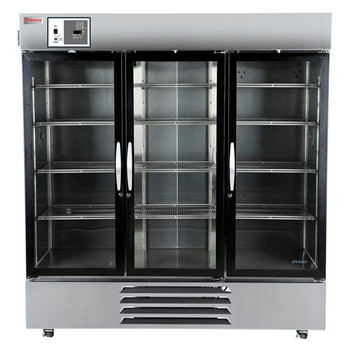 MR72SS-GAEE-TS Thermo Scientific GP Series Lab Refrigerators GP Series 72 cu ft Refrigerator, stainless steel, glass door, 120V Each of  1