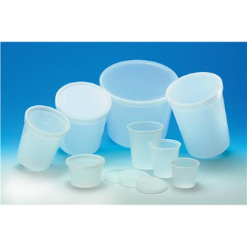 Biomedical Polymers BMP-CN-804 Multi Purpose Containers Translucent Multi purpose container translucent 8 oz.  (Case of 100)
