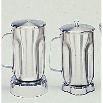 SS610 Waring Standard Size Stainless Steel Jar For Blenders (Each of 1)