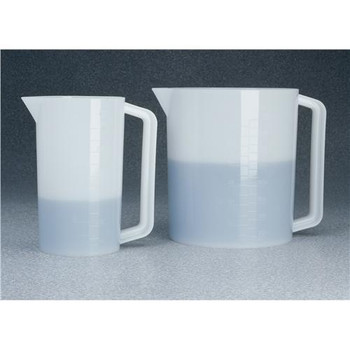 Thermo Scientific Nalgene 1223-3000 Graduated Pitchers Graduate, 3,000 ml, Clear, PMP  (Each of 1)